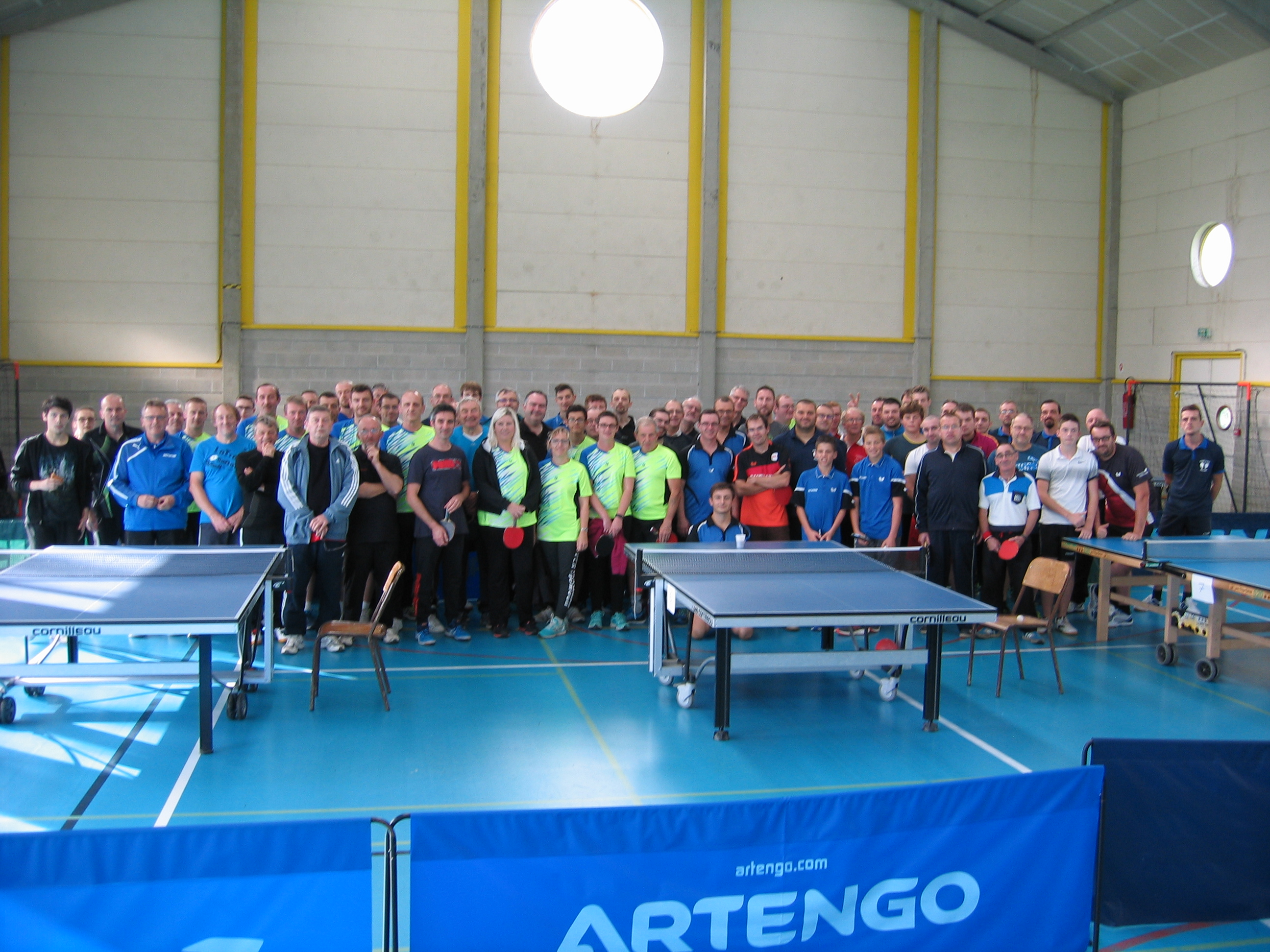 Rencontre Tennis de Table organisée par le CDSMR 59